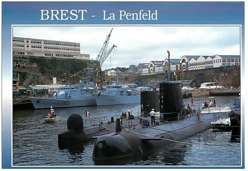 [Les ports militaires de métropole] Port de Brest - TOME 1 - Page 40 Diapos19
