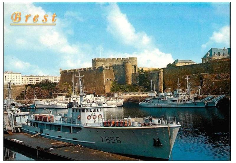[Les ports militaires de métropole] Port de Brest - TOME 1 - Page 40 Diapos27