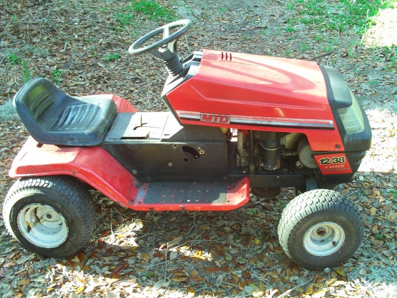 The Fast Mower That Was An Agway But I Got Something Else Build File0010