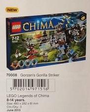 [Les actualités Lego] LOC:Les prochain sets Chima Chima213