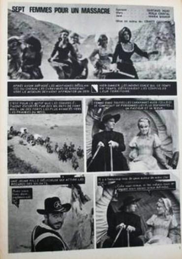 Le triomphe des 7 desperadas - Las siete magníficas - 1966 - Sidney W. Pink , Gian Franco Parolini ... 110