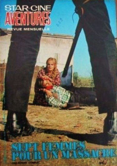 Le triomphe des 7 desperadas - Las siete magníficas - 1966 - Sidney W. Pink , Gian Franco Parolini ... 1970-a10