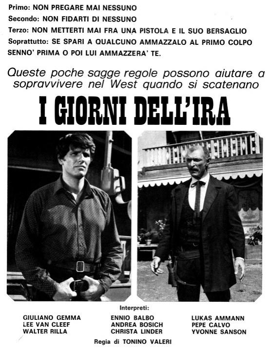 Le dernier jour de la colère - I giorni dell'ira - 1967 - Tonino Valerii Romanp10