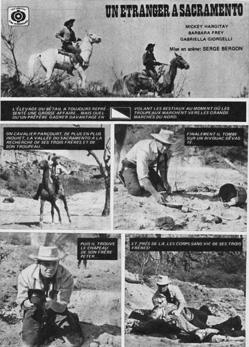 Je te tuerai ! [ Uno straniero a Sacramento ] 1965 . Sergio Bergonzelli . Sept_610