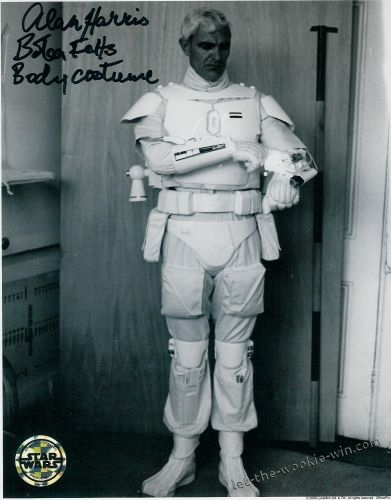 Meet Boba Fett - original footage of the prototype white Fett costume 20110610