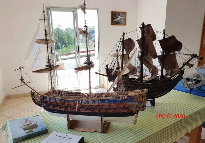 Expo modélisme naval St.Pée sur Nivelle (64) 20200817
