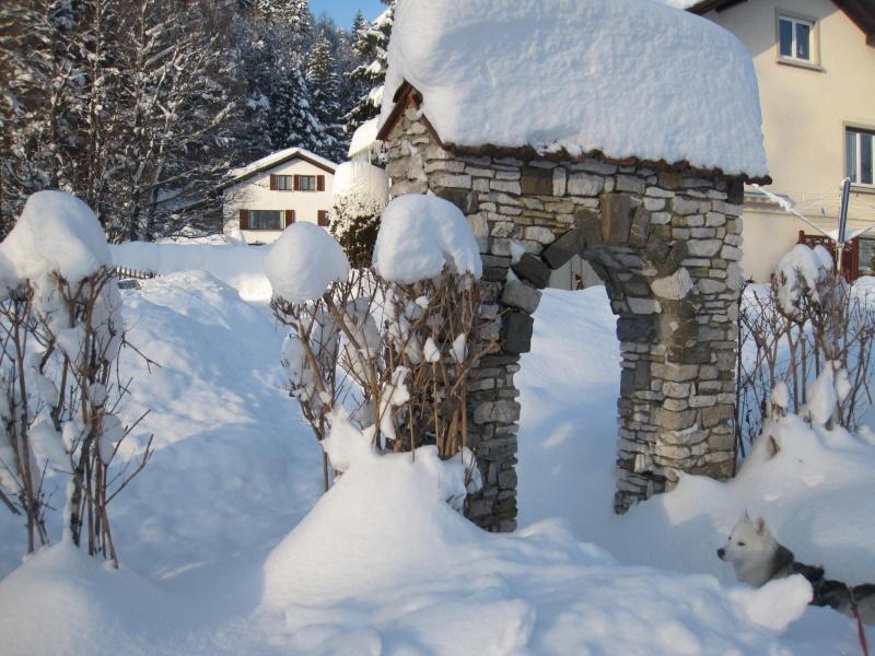 Nouvelles courses de Saskia dans la neige 3410