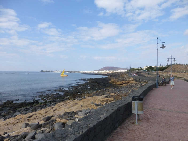 Canary Islands, Lanzarote, Playa Blanca, 2012, Walk from Rubicon Marina to the Lighthouse 26210