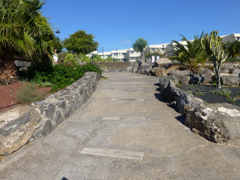 Canary Islands, Lanzarote, Playa Blanca, 2012, Walk from Dorada beach through Town 86810
