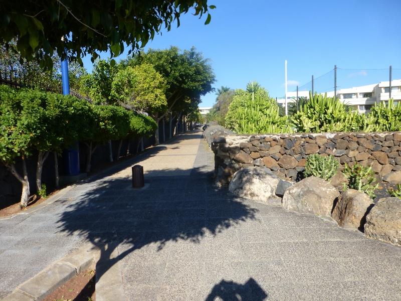 Canary Islands, Lanzarote, Playa Blanca, 2012, Walk from Dorada beach through Town 86910