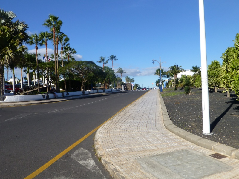 Canary Islands, Lanzarote, Playa Blanca, 2012, Walk from Dorada beach through Town 87510