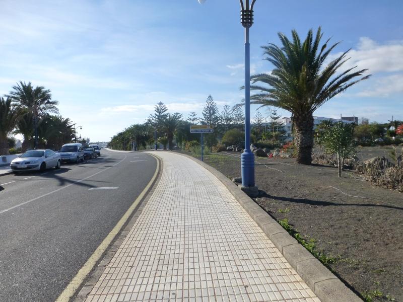Canary Islands, Lanzarote, Playa Blanca, 2012, Walk from Dorada beach through Town 88410