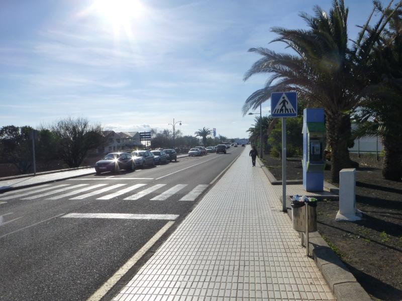 Canary Islands, Lanzarote, Playa Blanca, 2012, Walk from Dorada beach through Town 88810