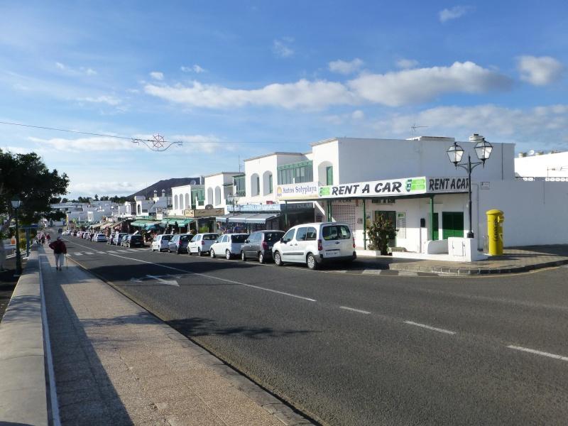 Canary Islands, Lanzarote, Playa Blanca, 2012, Walk from Dorada beach through Town 90010