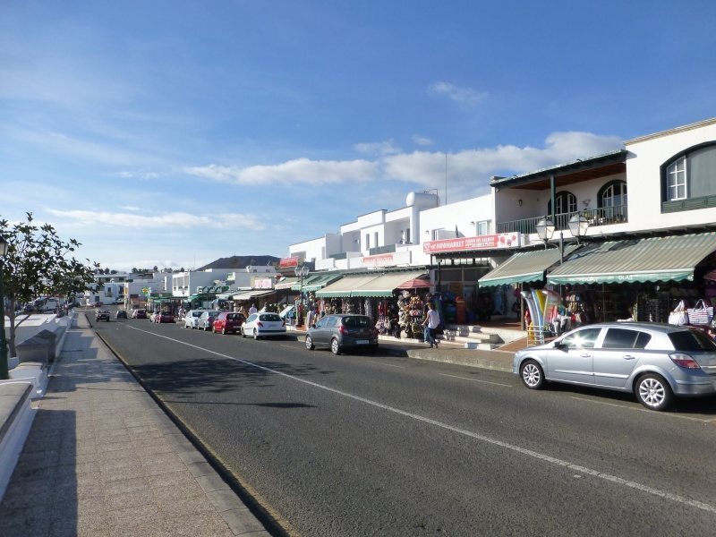 Canary Islands, Lanzarote, Playa Blanca, 2012, Walk from Dorada beach through Town 90310