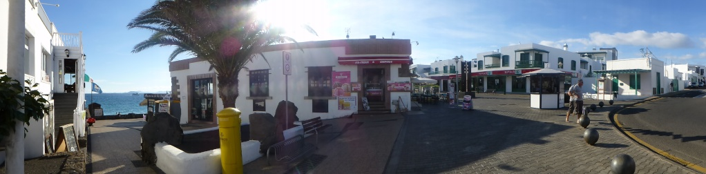 Canary Islands, Lanzarote, Playa Blanca, 2012, Walk from Dorada beach through Town 90810