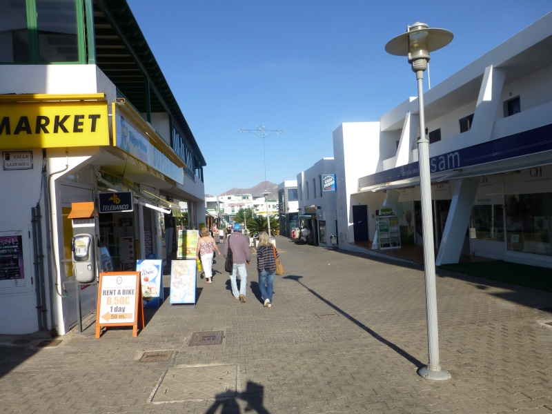 Canary Islands, Lanzarote, Playa Blanca, 2012, Walk from Dorada beach through Town 91310