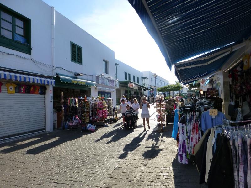 Canary Islands, Lanzarote, Playa Blanca, 2012, Walk from Dorada beach through Town 91410