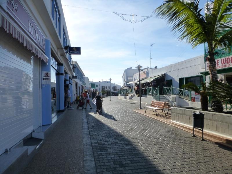 Canary Islands, Lanzarote, Playa Blanca, 2012, Walk from Dorada beach through Town 91510