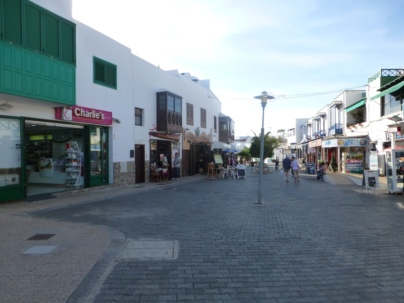 Canary Islands, Lanzarote, Playa Blanca, 2012, Walk from Dorada beach through Town 91810