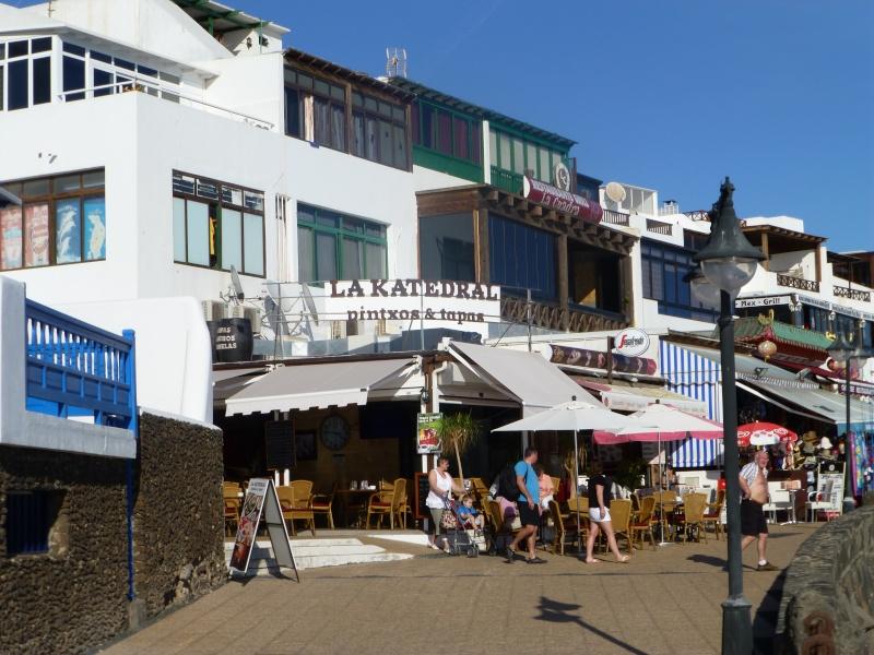 Canary Islands, Lanzarote, Playa Blanca, 2012, Walk from Dorada beach through Town 92610