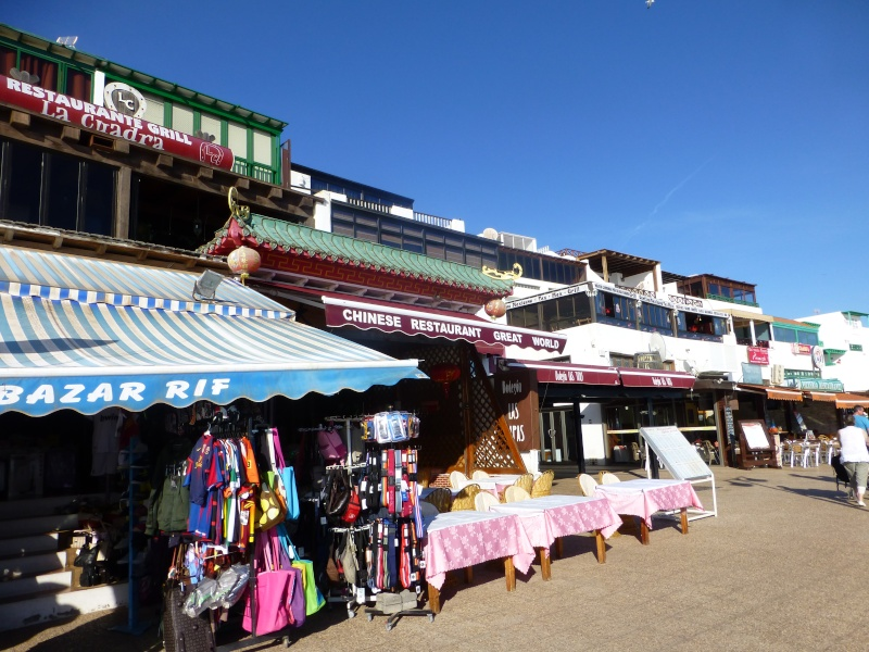 Canary Islands, Lanzarote, Playa Blanca, 2012, Walk from Dorada beach through Town 92810