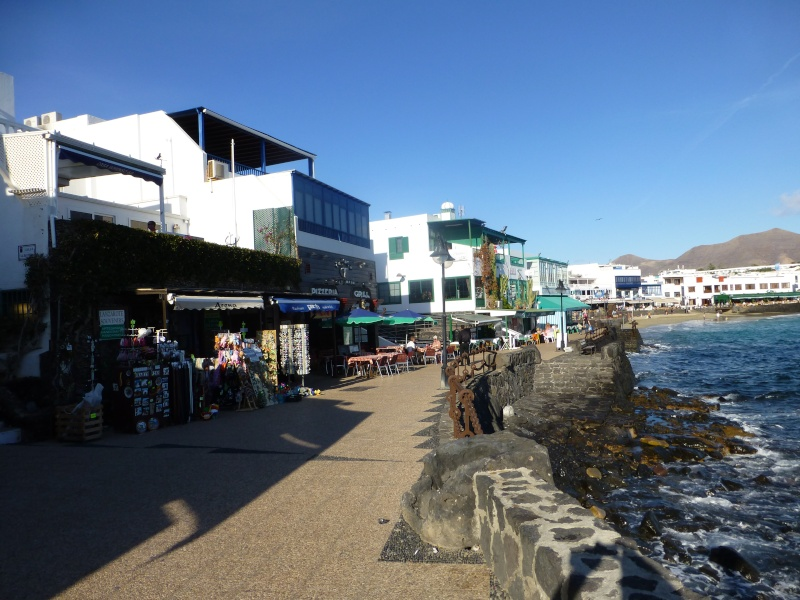 Canary Islands, Lanzarote, Playa Blanca, 2012, Walk from Dorada beach through Town 93510