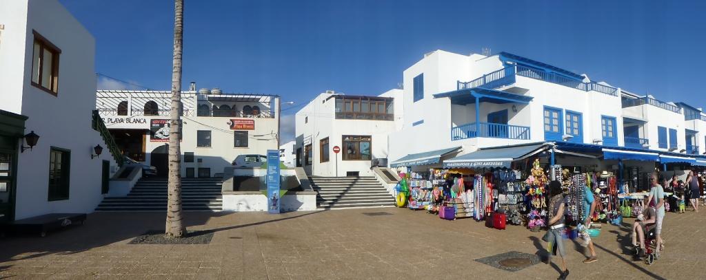 Canary Islands, Lanzarote, Playa Blanca, 2012, Walk from Dorada beach through Town 94710