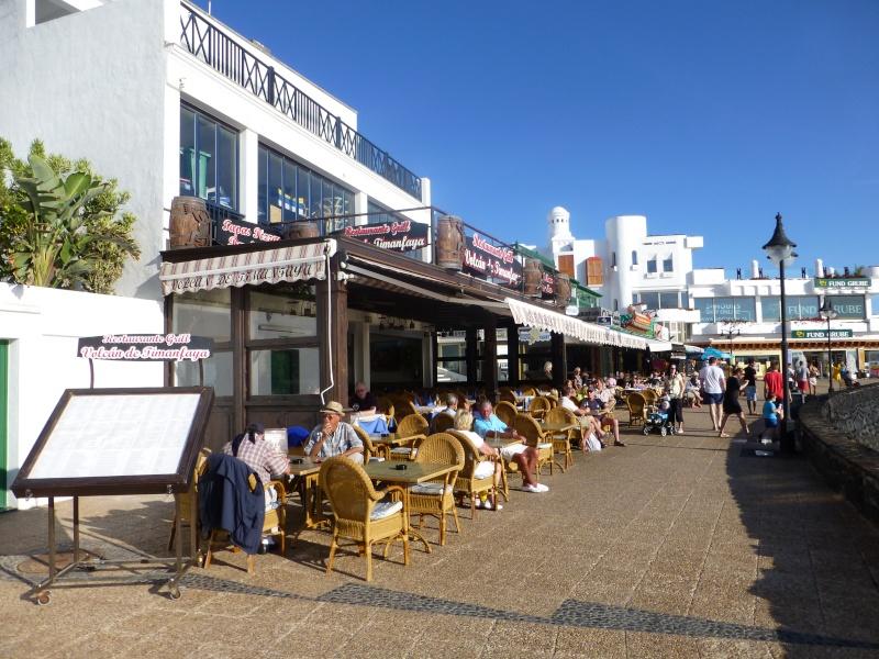 Canary Islands, Lanzarote, Playa Blanca, 2012, Walk from Dorada beach through Town 95011