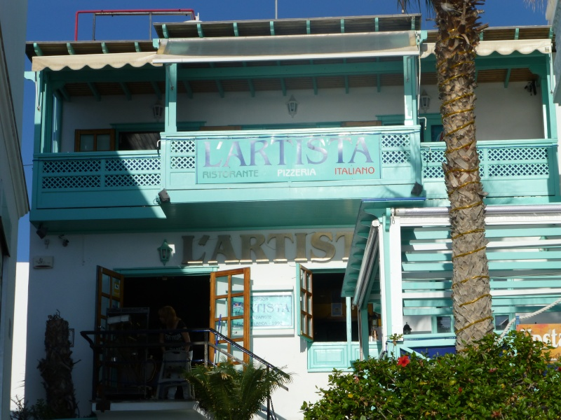 Canary Islands, Lanzarote, Playa Blanca, 2012, Walk from Dorada beach through Town 95110