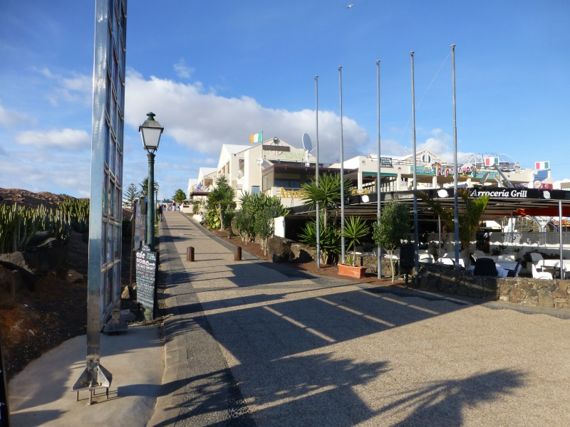 Canary Islands, Lanzarote, Playa Blanca, 2012, Walk from Dorada beach through Town 95510