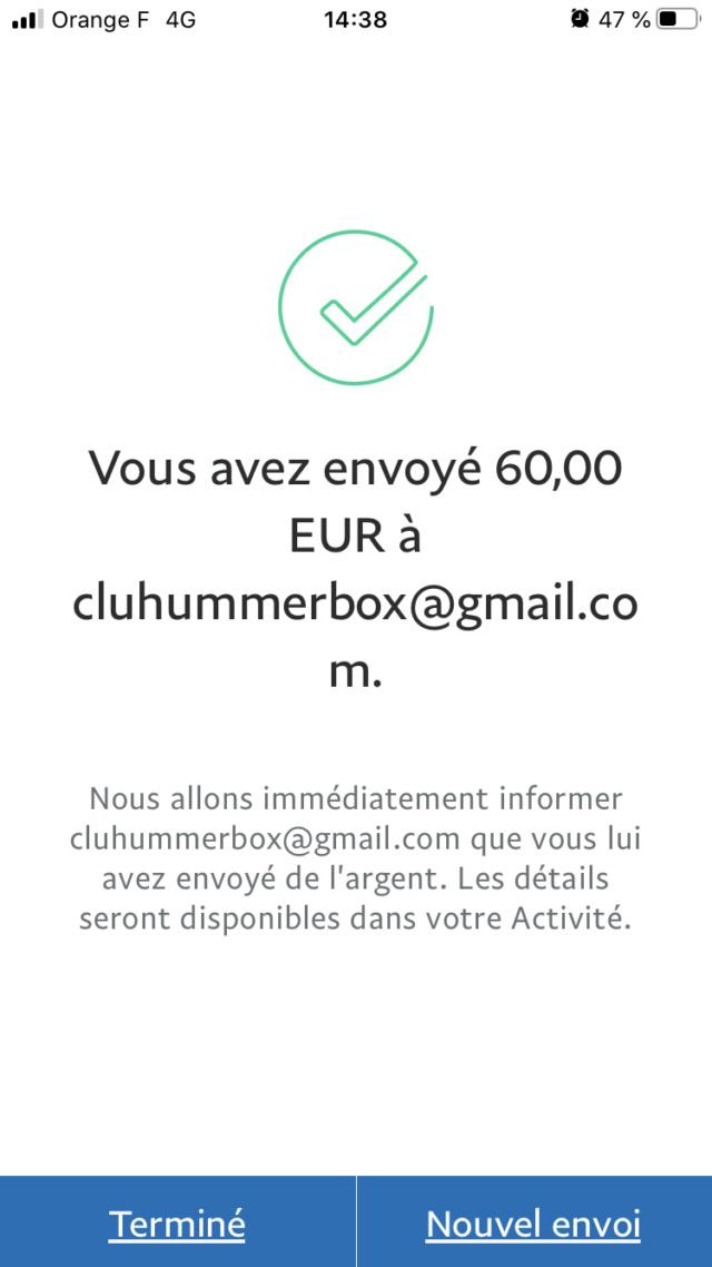 adhésion réglée de 2bonhummer pour devenir adhérent au club hummerbox 3517b710