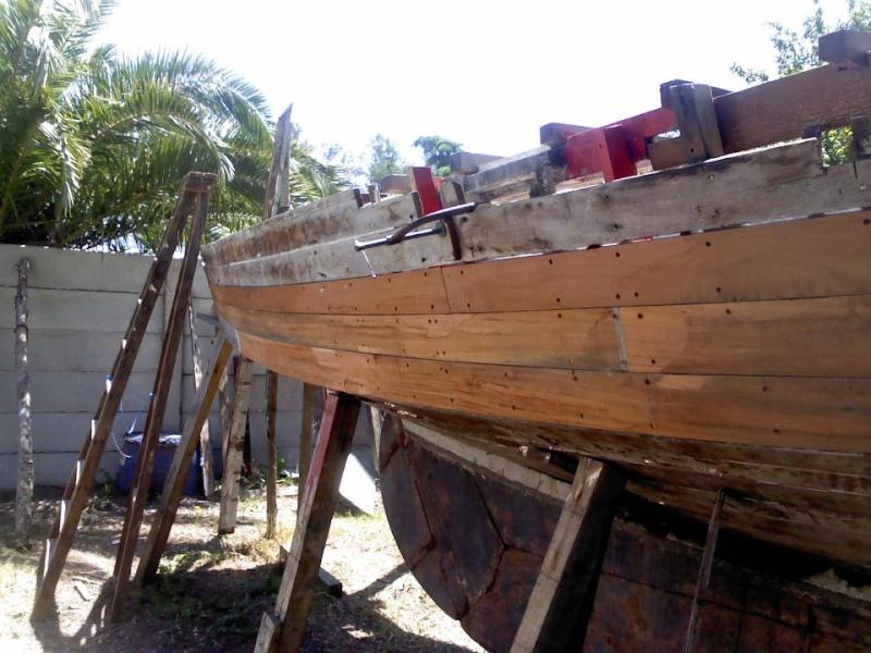 Fondo barco de madera Fermin13