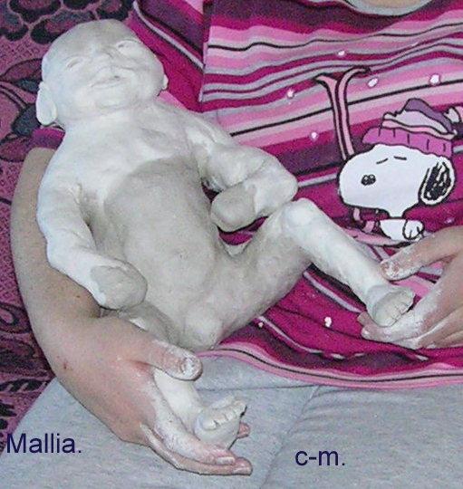 sculpture de bébés crée de A à Z. Dscn2436