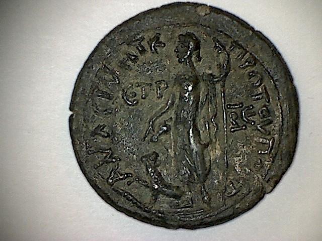 Bronze de Faustine II pour Amasée . R15a10