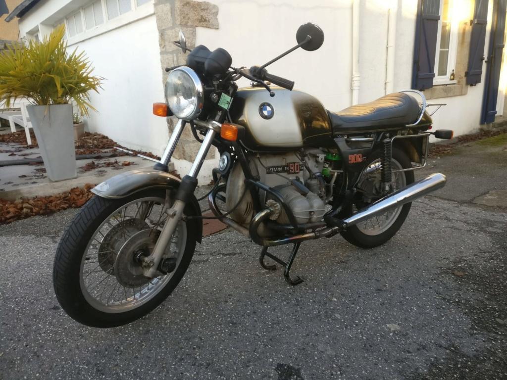 Cette fois...c'est pour moi ! R90S Smoke 1975 ! Whatsa16