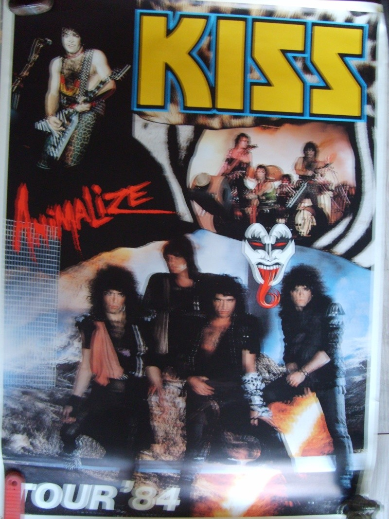 KISS poster vintage S5003519