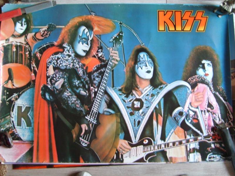KISS poster vintage S5003525