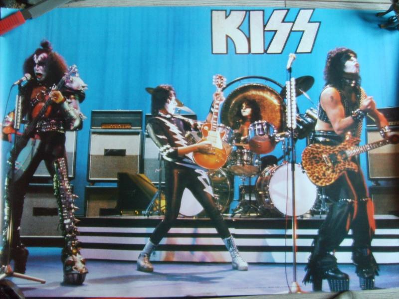 KISS poster vintage S5003526