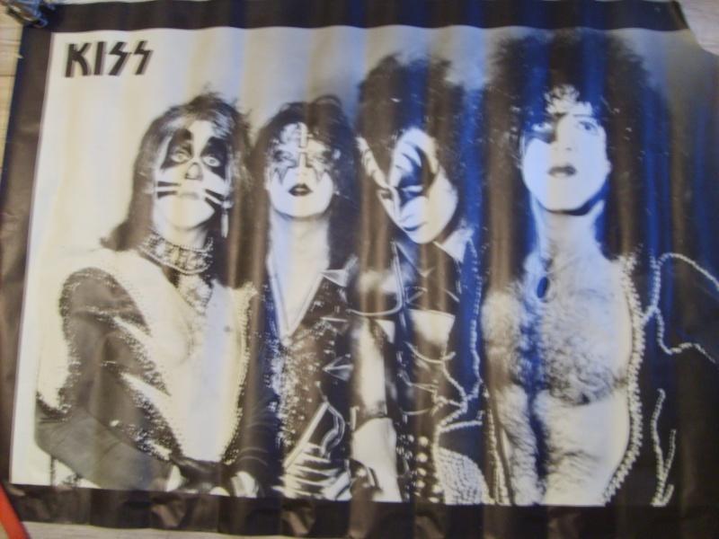 KISS poster vintage S5003527