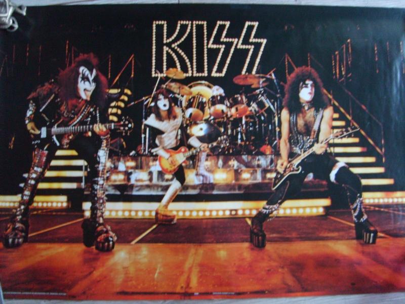 KISS poster vintage S5003533
