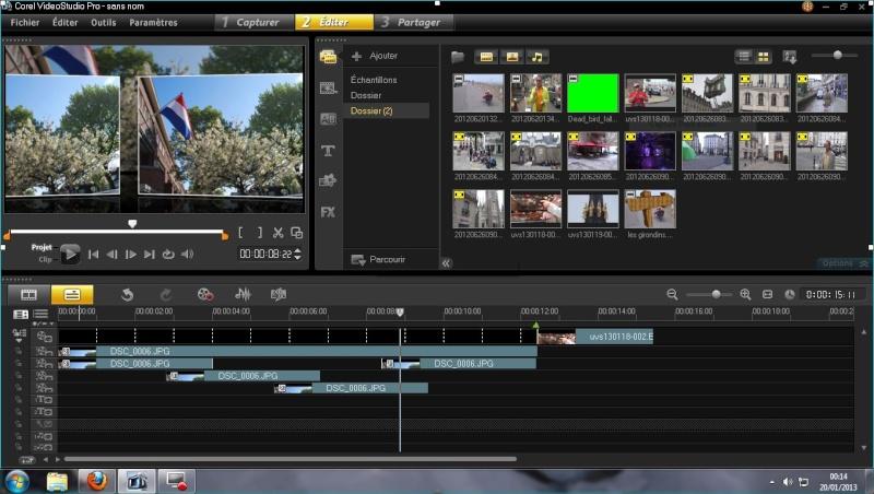 Logiciel de montage vidéo Captur10
