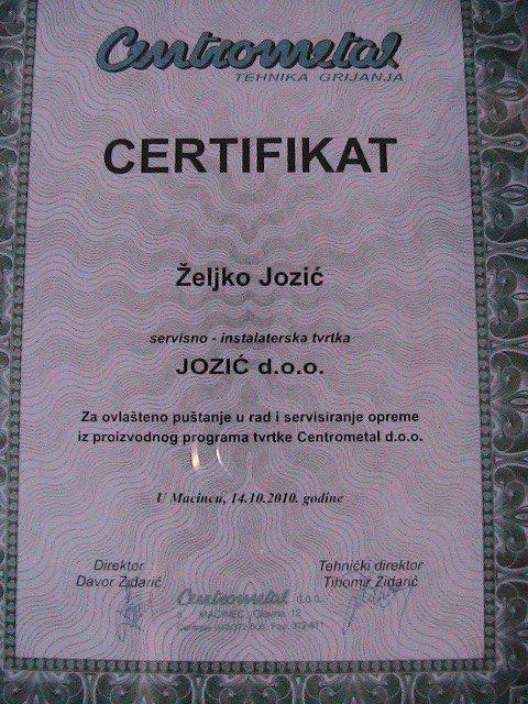 """Naši poduzetnici - """"Jozić"""" s.p. 23028310"""
