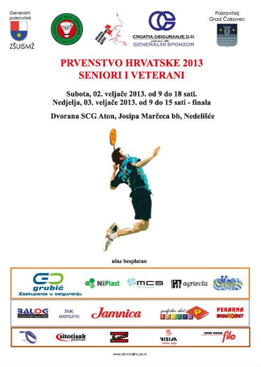 Predrag Dilberović - Budući prvak Hrvatske u Badmintonu! Plakat10
