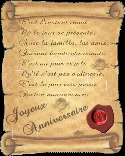 aujourd'hui c 'est l anniversaire d AGNES Ucf5il10
