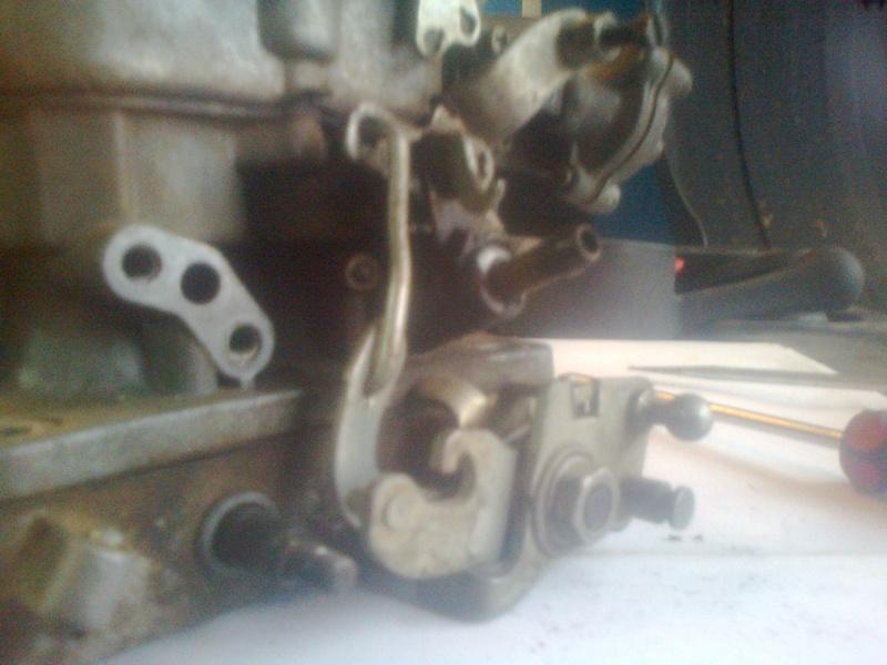 Изготовление двигателя из уже готовых и притертых деталей. Do002110