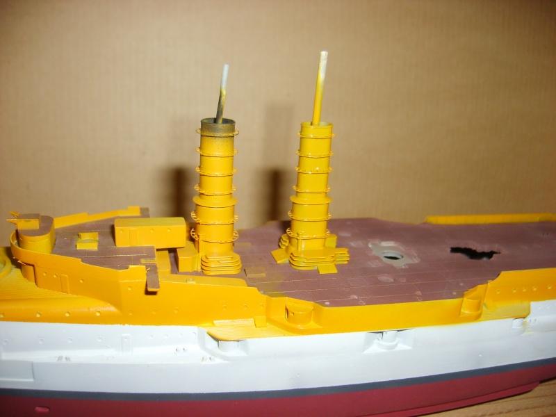 Croiseur SMS Scharnhorst Combrig + torpilleur Strérégutchy échelle 1/350è Debut des traveaux... - Page 4 S6001010