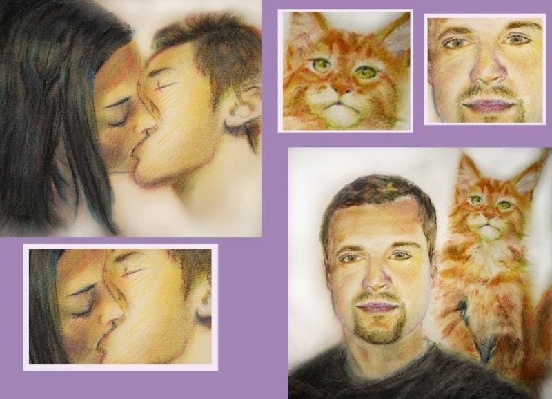 presentation de mes portraits 26874511