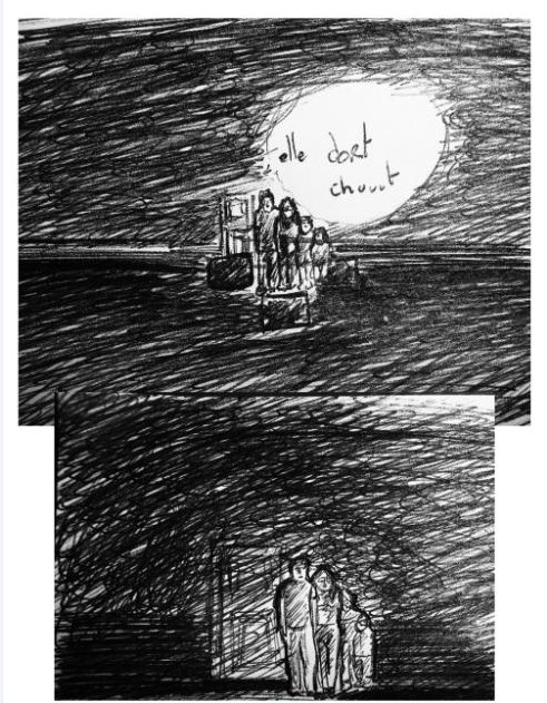 """cauchemar """"abandon surréaliste"""" Reve610"""