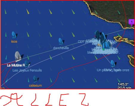 Vendée Globe (LS Sail The Globe)  - Page 3 Captur46